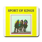 thoroughbred racing horse Mousepad