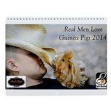 2013 Guinea Pig Rescue Wall Calendar