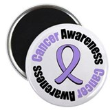 General Cancer Awareness Magnet