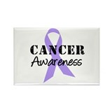 General Cancer Awareness Rectangle Magnet (10 pack