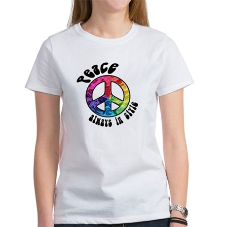 Peace Always in Style Women's T-Shirt