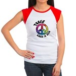 Peace Always in Style Women's Cap Sleeve T-Shirt