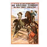An Arizona Cowboy Postcards 8ct.