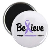 "General Cancer Awareness 2.25"" Magnet (10 pack)"