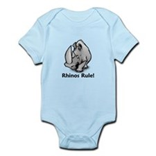 Rhinos Rule! Infant Bodysuit