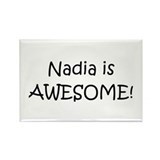 Funny Nadia Rectangle Magnet (10 pack)