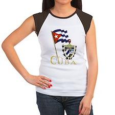Women's Pride of Cuba Cap Sleeve T-Shirt