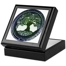 Tree of Life Mandala Keepsake Box