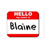 Hello my name is Blaine Postcards (Package of 8)