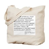 Cute Literature Tote Bag