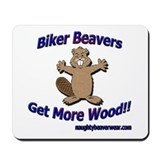 Biker Beavers Mousepad