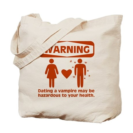 Warning Tote Bag