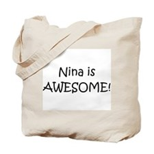 Cute Nina Tote Bag