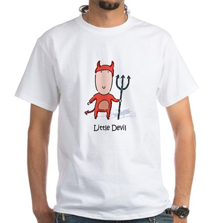 Little Devil White T-Shirt