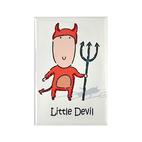 Little Devil Rectangle Magnet (10 pack)