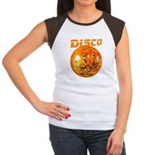 Orange Disco Ball Tee