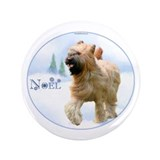 "Briard Noel 3.5"" Button (100 pack)"