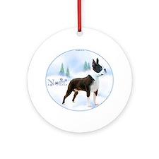Boston Noel Ornament (Round)
