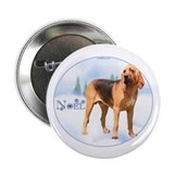 "Bloodhound Noel 2.25"" Button (10 pack)"