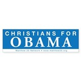 Christians for Obama Bumper Sticker (10 pk)