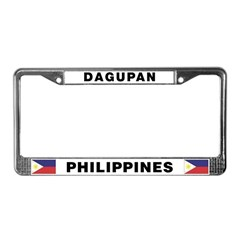 Dagupan License Plate Frame