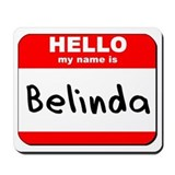 Hello my name is Belinda Mousepad