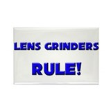 Lens Grinders Rule! Rectangle Magnet (10 pack)