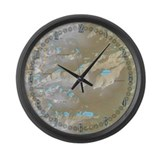 Brainard Lake Large Wall Clock