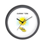 FLIP FLOP FUN Wall Clock