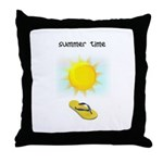 FLIP FLOP FUN Throw Pillow