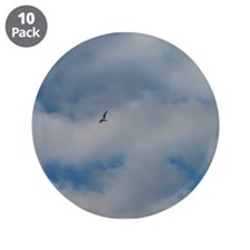 "Gull 3.5"" Button (10 pack)"