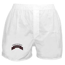 75th Ranger Scroll Rangers L Boxer Shorts