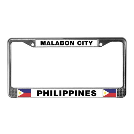 Malabon City License Plate Frame