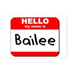 Hello my name is Bailee Postcards (Package of 8)