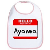 Hello my name is Ayanna Bib