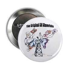 "2.25"" Button (10 pack) Original Oil Mavericks"