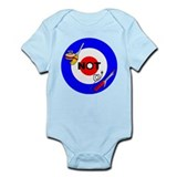 Curling NOT Curling Infant Bodysuit