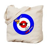 Curling NOT Curling Tote Bag