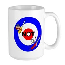 Curling NOT Curling Mug