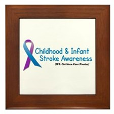 Childhood Stroke Awareness 1 Framed Tile