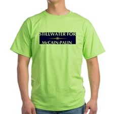 STILLWATER for McCain-Palin T-Shirt
