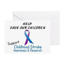 Childhood Stroke Awareness 2 Greeting Card