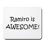 Cool Ramiro Mousepad
