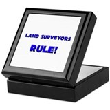 Land Surveyors Rule! Keepsake Box