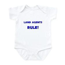 Land Agents Rule! Infant Bodysuit