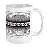 Masonic Grid Large Mug