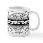 Masonic 3D Grid Mug