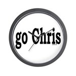 go Chris Wall Clock