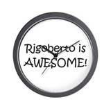 Funny Rigoberto Wall Clock