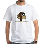 Code Monkey White T-Shirt